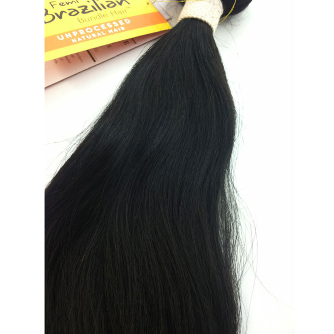 "Femi Collection Unprocessed Brazilian Remy 16""-18"""